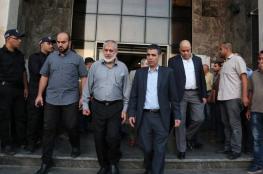 الوفد الامني المصري يصل الى غزة