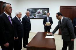أحمد براك يؤدي اليمين القانونية أمام الرئيس نائبا عاما لدولة فلسطين