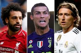 محمد صلاح ينافس رونالدو ومودريتش على جائزة أفضل لاعب في اوروبا