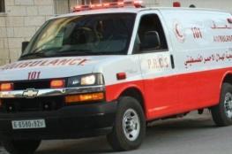 """""""8""""  اصابات في حادث تصادم شرق طولكرم"""