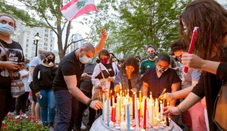 أسير فلسطيني يتبرع براتبه كاملا لضحايا انفجار بيروت