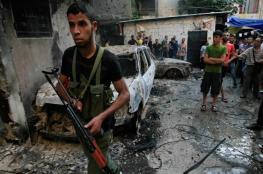 بالفيديو.. اشتباكات مسلحة في مخيم عين الحلوة ونزوح عائلات