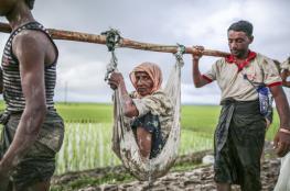 38 ألف مسلم فروا إلى بنغلاديش من ميانمار في أسبوع