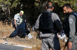 من مكان العثور على جثة الجندي الاسرائيلي جنوب بيت لحم