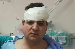 """الرئيس يهاتف النائب """" أيمن عودة """" بعد اصابته في مواجهات ام الحيران"""
