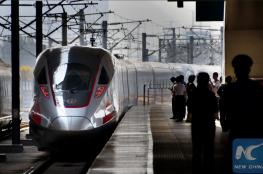 """الصين تطلق قطار """"الرصاصة """" الأسرع في العالم"""