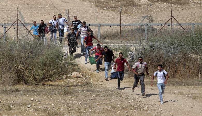 """20 الف عامل يعملون في """"اسرائيل """" بلا تصاريح"""