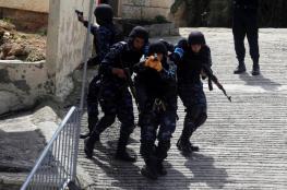 الامن يقبض على لصوص سرقوا كاميرات مراقبة بنابلس