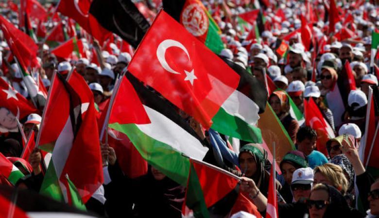 فلسطين : الشعب التركي يعتبر شقيقاً وحامياً لاراضي الأجداد