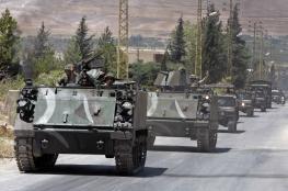 الجيش اللبناني يسيطر على مناطق لداعش قرب الحدود السورية