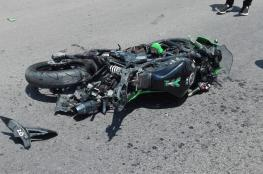 وفاة شاب بحادث دراجة نارية في عين يبرود شمال البيرة