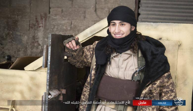 داعشي من غزة  قتل 10 جنود اتراك في عملية انتحارية شمال سوريا
