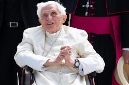 تدهور شديد على صحة بابا الفاتيكان السابق