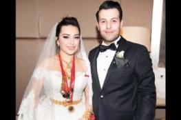 """15 كيلو ذهب """"نقوط"""" لعروسين تركيين ليلة زفافهما"""