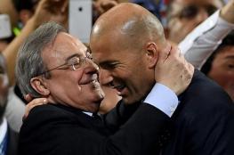 "زيدان ""ملك النهائيات"" مع ريال مدريد"