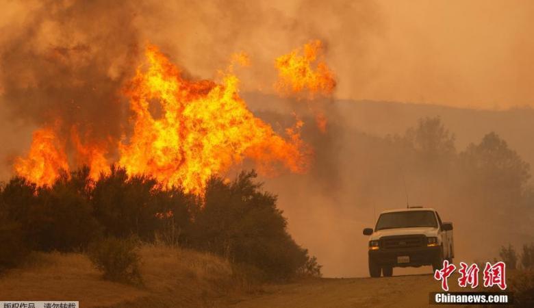 """اميركا تعلن القبض على مفتعل أكبر حريق بتاريخ """"كاليفورنيا """""""