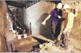 الكشف عن 64 حفرية ونفقاً أسفل المسجد الأقصى
