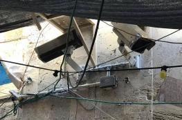 الاحتلال ينصب كاميرات على مداخل الأقصى بشكل سري