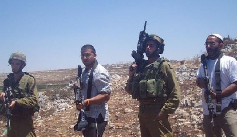 20 اصابة بالرصاص في هجوم للمستوطنين على قرية المغير برام الله