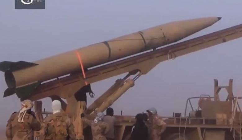 """شاهد:  """" المعارضة السورية """"  تستخدم لاول مرة صواريخ باليستية"""