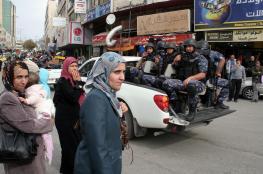 القبض على 8 أشخاص عليهم اوامر حبس بأكثر من مليون شيقل في نابلس