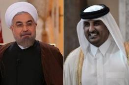 روحاني لتميم : ايران ستواصل دعم قطر