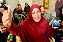 شاهد: مقطع مؤثر لأم الشهيد بدوي مسالمة وهي تبكي ابنها