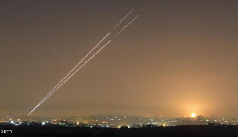 إطلاق عدة صواريخ من غزة باتجاه التجمعات الاستيطانية