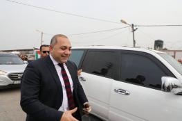 الوفد الامني المصري يغادر غزة بعد اجتماع استمر لساعات مع حماس