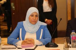 """وزيرة المرأة : """"نعمل على اعادة الثقة بين المواطن والحكومة """""""