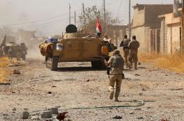 """الجيش العراقي يطارد فلول """"داعش """" في صحراء الانبار"""