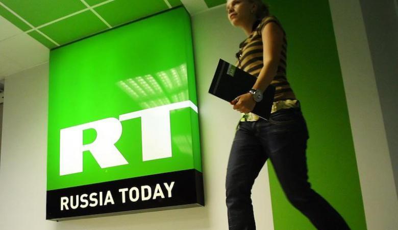 قناة روسيا اليوم تحت الضغط الأمريكي