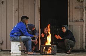 أجواء الشتاء في مدينة غزة