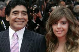 مارادونا يطالب بسجن ابنته اللصة