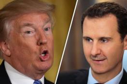 ترامب يبحث توجيه ضربة عسكرية لنظام بشار الأسد