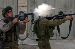 اصابات في استهداف اسرائيلي لمدرسة في مدينة الخليل