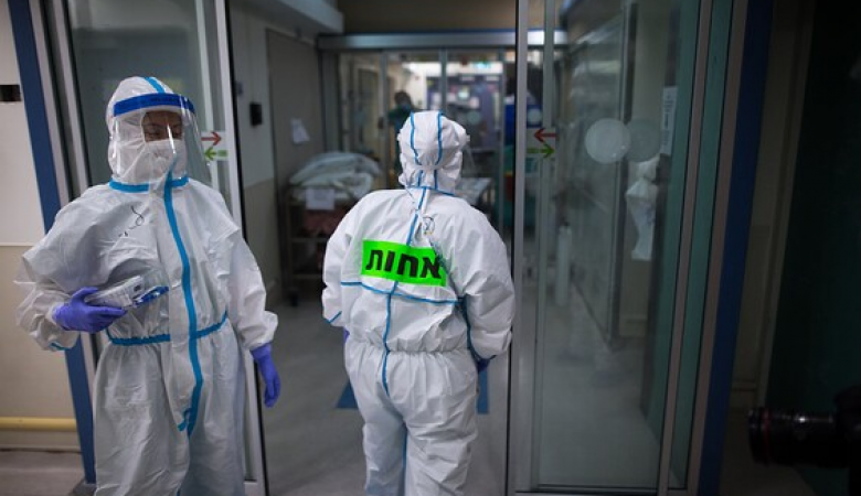 """""""اسرائيل """" تسجل 39 حالة وفاة بكورونا اليوم"""