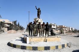 الحر والجيش التركي يسيطران على مدينة الباب