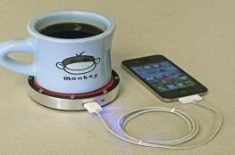 لعشاق الكافيين.. تستطيع شرب قهوتك من هاتفك!