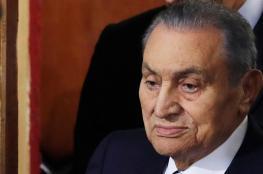 """حسني مبارك يظهر من جديد ليتحدث عن بطولات الجيش المصري امام """"اسرائيل """""""