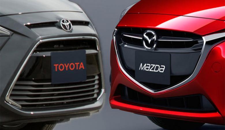 تويوتا تطلق مع مازدا مشروعا للسيارات الكهربائية