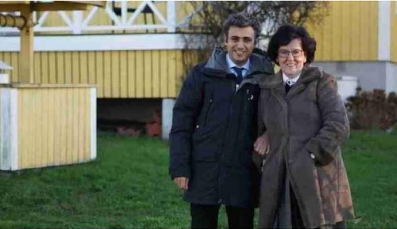 فلسطيني يتزوج ثرية سويدية تكبره بـ34 عاماً