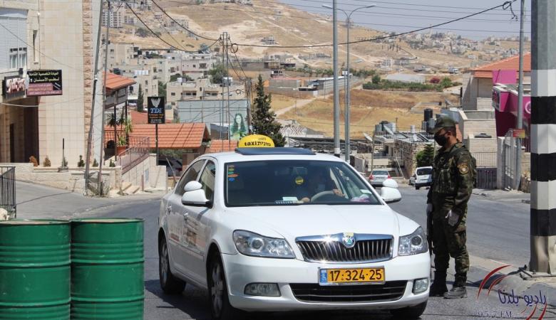 محافظ بيت لحم يقرر عزل المحافظة عن الضفة الغربية