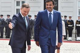 أمير قطر يدعو الى تسوية عادلة للقضية الفلسطينية في أسرع وقت