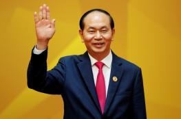 الاعلان عن وفاة الرئيس الفيتنامي