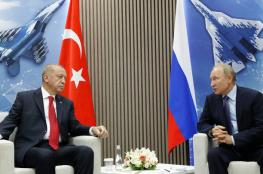 اردوغان يزور روسيا نهاية الشهر الحالي