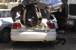 """الشرطة تتلف """" 130 """" مركبة في محافظة رام الله والبيرة"""