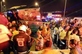 """مقتل """"7 """" مستوطنين في حادث الحافلة التي كان يقودها فلسطيني"""