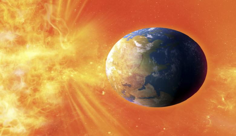 رياح شمسية متوقعة تضرب الأرض هذا الأسبوع
