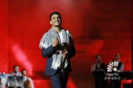 عساف يعلق على التصريحات الاسرائيلية بشأنه والمصري يتضامن